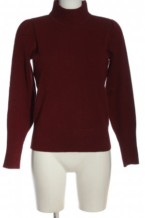 Camaieu Fine Knit Jumper red casual look