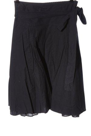 Camaieu Rozkloszowana spódnica czarny W stylu casual