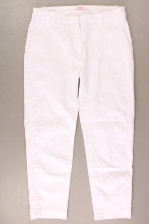 Camaieu Spodnie w kolorze białej wełny