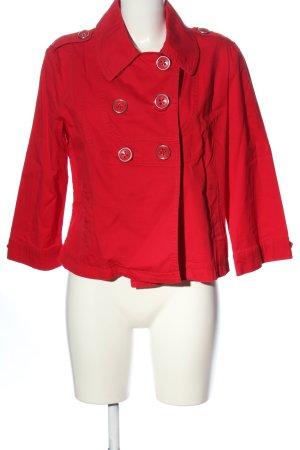 Camaieu Blazer corto rosso stile casual