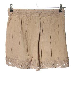 Camaieu Spódnica mini brązowy W stylu casual