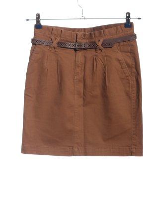 Camaieu Minigonna marrone stile casual