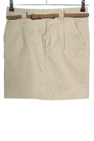 Camaieu Miniskirt natural white-brown casual look