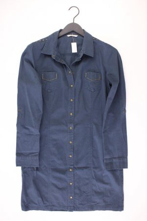 Camaieu Polo Dress blue-neon blue-dark blue-azure