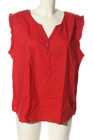 Camaieu Top spalle scoperte rosso stile casual