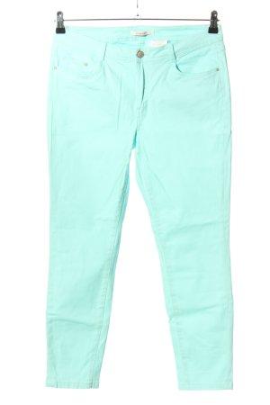 Camaieu Slim Jeans türkis Casual-Look