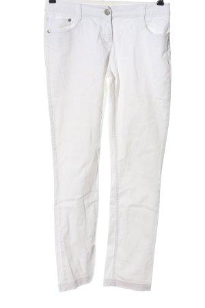 Camaieu Straight Leg Jeans white casual look