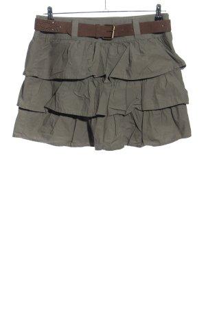 Camaieu Broomstick Skirt light grey casual look