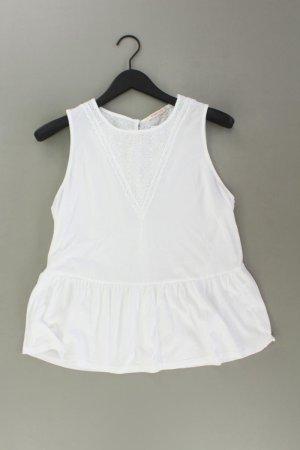 Camaieu Top w kolorze białej wełny Bawełna