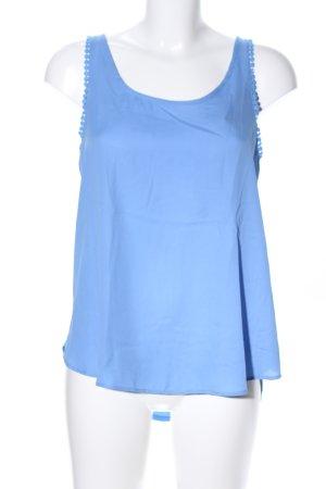 Camaieu Trägertop blau Casual-Look
