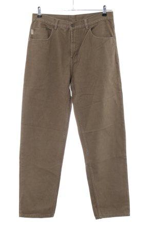 camargue Hoge taille broek bruin casual uitstraling