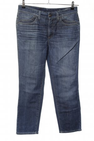 Cambio 3/4-jeans blauw casual uitstraling