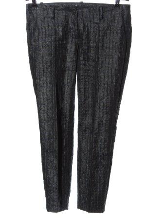 Cambio Pantalone a 7/8 blu-nero stampa integrale stile casual