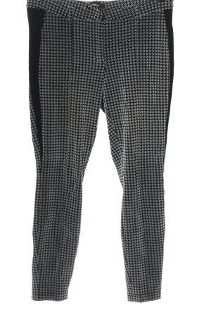 Cambio Pantalone a 7/8 nero-grigio chiaro stile casual