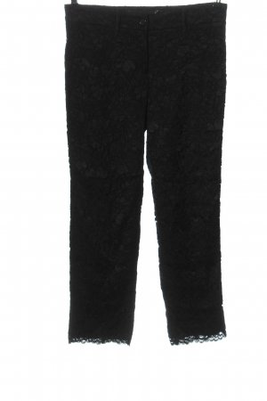 Cambio 7/8 Length Trousers black elegant