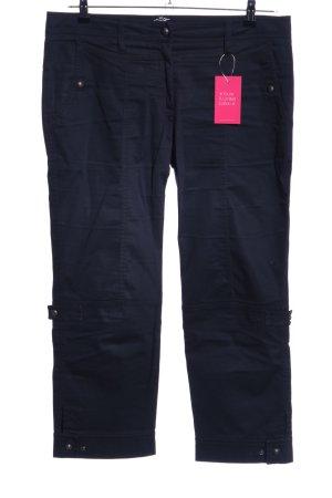 Cambio 7/8-broek zwart casual uitstraling