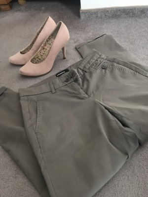 Cambio 7/8 Length Trousers grey brown