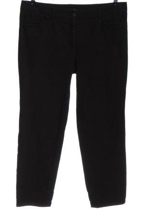 Cambio Jeansy 7/8 czarny Wzór w paski W stylu casual