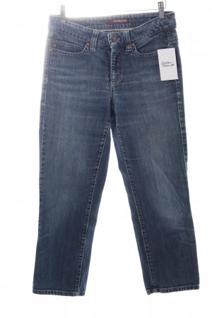 Cambio 7/8 Length Jeans steel blue casual look