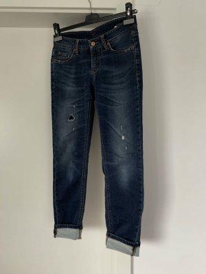 Cambio Skinny Jeans dark blue