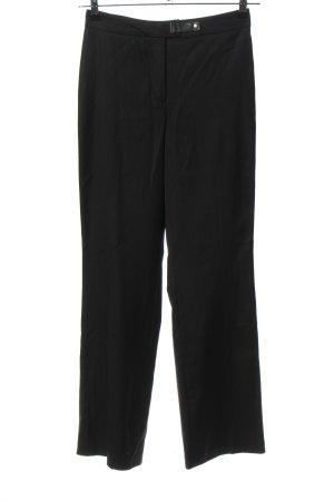 Cambio Spodnie garniturowe czarny W stylu biznesowym