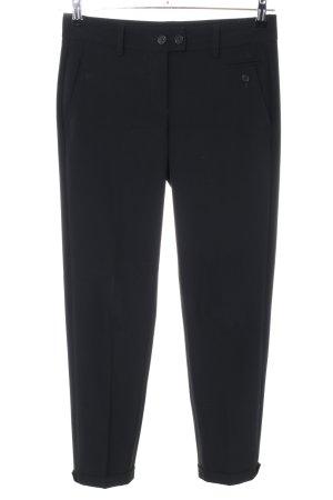 Cambio Pantalon de costume noir style d'affaires