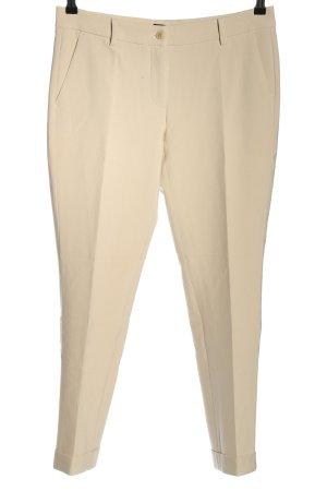 Cambio Pantalone da abito bianco sporco stile professionale