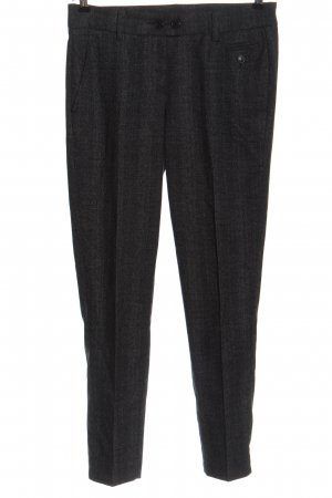 Cambio Suit Trouser black-natural white check pattern casual look