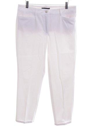 Cambio Pantalon de costume blanc style décontracté