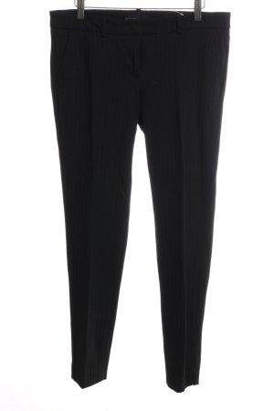 Cambio Pantalón de pinza negro estampado a rayas estilo «business»