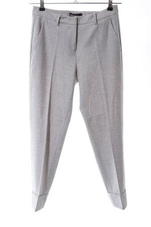 Cambio Pantalone Capri grigio chiaro puntinato stile professionale