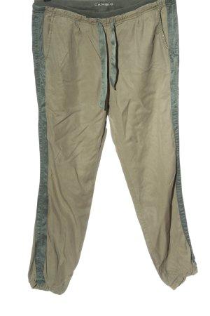 Cambio Pantalon chinos blanc cassé-gris clair style décontracté