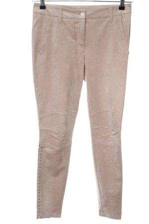 Cambio Pantalon chinos rose chair style décontracté