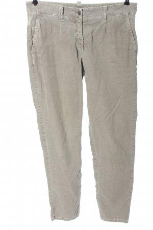 Cambio Corduroy Trousers light grey casual look