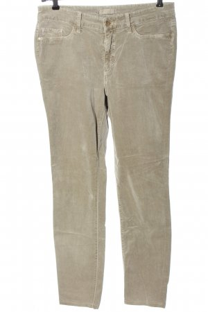Cambio Corduroy Trousers natural white casual look