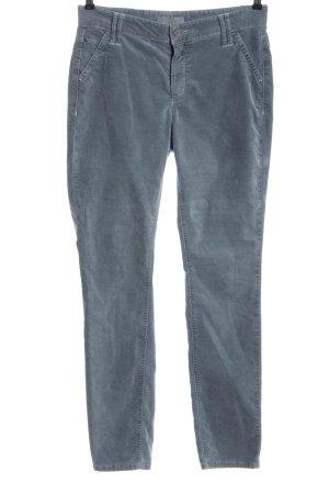 Cambio Corduroy broek blauw casual uitstraling