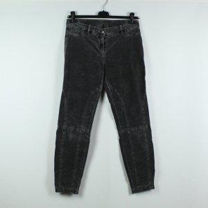 Cambio Pantalon en velours côtelé gris anthracite tissu mixte