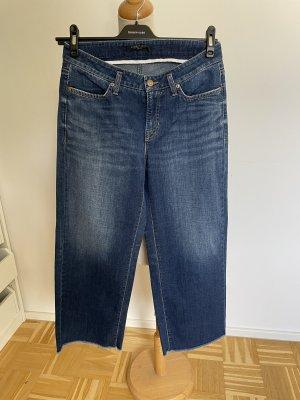 Cambio Jeans large bleu