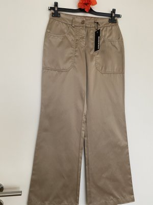 Cambio Marlene Trousers sand brown mixture fibre