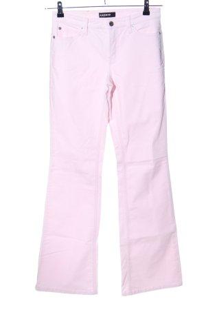 Cambio Pantalone cinque tasche rosa stile casual