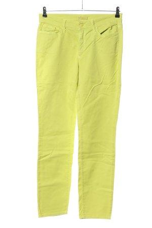 Cambio Five-Pocket-Hose blassgelb Casual-Look