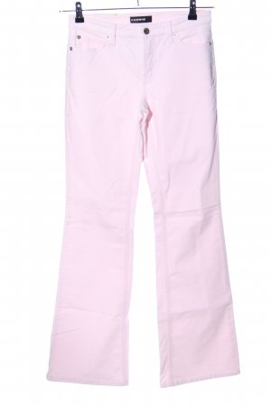 Cambio Pantalon cinq poches rose style décontracté