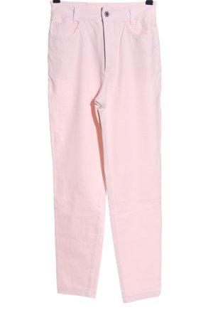 Cambio Pantalon taille haute rose style décontracté