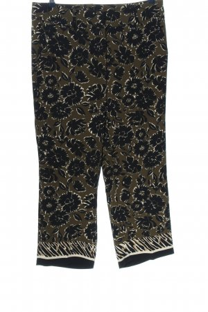 Cambio High Waist Trousers allover print casual look