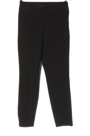 Cambio Pantalon taille haute noir style décontracté