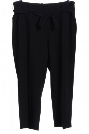 Cambio High Waist Trousers black business style