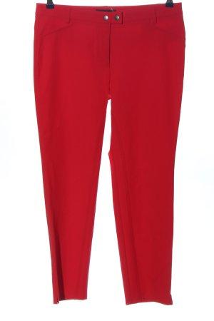 Cambio Pantalon taille haute rouge style décontracté