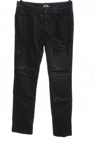 Cambio High Waist Trousers black casual look