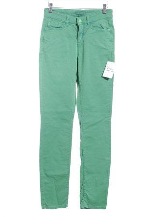Cambio Hoge taille jeans lichtgroen klassieke stijl