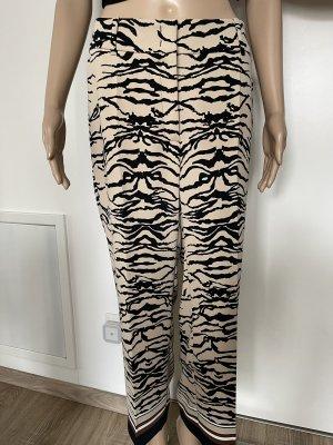 Cambio Pantalone Marlene nero-crema